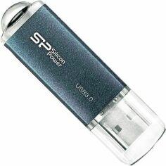 Акция на USB флеш накопитель Silicon Power Marvel M01 128GB Blue (SP128GBUF3M01V1B) от Територія твоєї техніки