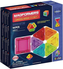 Конструктор магнитный Magformers Базовый Супер 3D набор 14 деталей (714001) (8809134369890) от Rozetka