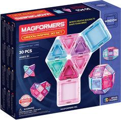 Конструктор магнитный Magformers Супер 3D набор Вдохновение 30 деталей (714004) (8809134369944) от Rozetka