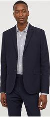 Пиджак H&M XAZ057321CMDX 50 Темно-синий (DD2000001394519) от Rozetka