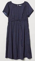 Платье H&M Mama XAZ182023VPEA XXL Темно-синее (DD2000003936410) от Rozetka