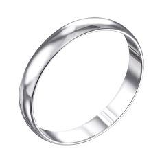 Обручальное серебряное кольцо 000133404 000133404 18 размера от Zlato