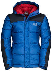 Пуховик Jack Wolfskin Mount Cook Jacket Kids 1608131-1201 164 см Синий (4060477299778) от Rozetka