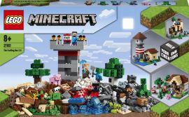Конструктор LEGO Minecraft Верстак 3.0 564 детали (21161) от Rozetka
