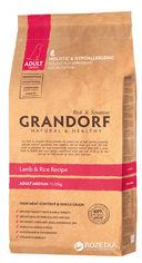 Сухой корм для собак Grandorf Adult Medium Breed ягненок с рисом 1 кг (5404009585011) от Rozetka
