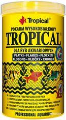 Корм Tropical для аквариумных рыб в хлопьях 1 л (5900469770269) от Rozetka