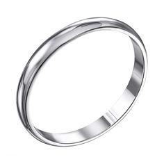 Серебряное обручальное кольцо 000119331 000119331 21.5 размера от Zlato