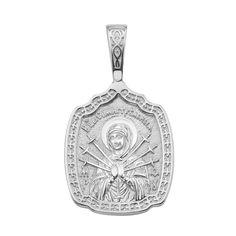 Серебряная ладанка Семистрельная Божья Матерь с молитвой 000134363 000134363 от Zlato