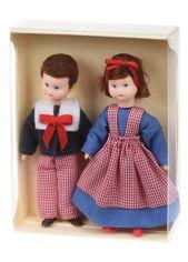 """Набор кукол nic """"Брат и сестра"""" (NIC31416) от MOYO"""