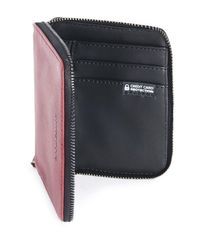 Акция на Кошелёк кожаный Tucano Sicuro Premium Wallet (красный) от MOYO