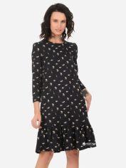 Платье Рута-С 4192тр 44 (164-88-96) Темно-синее с принтом от Rozetka