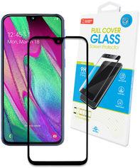 Защитное стекло Global для Samsung Galaxy A40 Black (1283126490941) от Rozetka