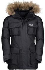 Пуховик Jack Wolfskin Ice Explorer Jacket Kids 1608201-6350 164 см Темно-серый (4060477301372) от Rozetka