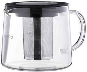 Заварочный чайник Ardesto Black Mars 1 л (AR0710FP) от Rozetka