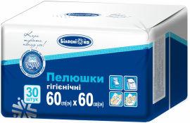 Акция на Пеленки гигиенические Білосніжка 60х60 см 30 шт (4820180240883_4820180242856) от Rozetka