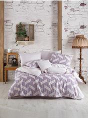 Комплект постельного белья Zugo Home ранфорс Feel V1 Полуторный комплект от Podushka
