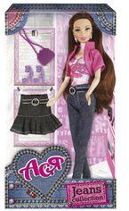 Кукла Ася с джинсами, юбкой и аксессуарами, Джинсовая коллекция от Stylus