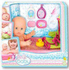 Пупс Play Baby с ванночкой для купания 32 см (32003) от Stylus