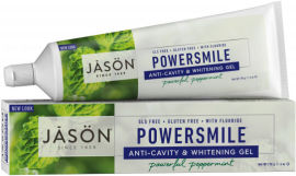 Гелевая зубная паста Jason отбеливающая Сила улыбки с коэнзимом Q10 170 г (078522015406) от Rozetka