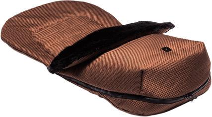 Теплый конверт/накидка на ножки Moon Panama Chocolate (68000043-805) от Rozetka