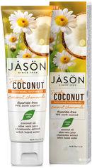Зубная паста Jason Заживляющая с маслом кокоса Simply Coconut 119 г (078522014966) от Rozetka