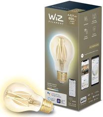 Умная лампочка WIZ Smart LED WiFi A60 E27 WiZ DW FA Q Warm Dimmable Filament 550lm 2200K (WZE21026011-A) от Rozetka
