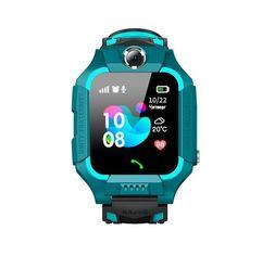 Детские телефон-часы с GPS трекером GOGPS ME K24 Зеленые от MOYO