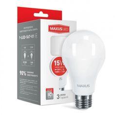 Светодиодная лампа MAXUS A70 15W 3000K 220V E27 (1-LED-567-01) от MOYO