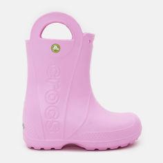 Резиновые сапоги Crocs Kids Jibbitz Handle It Rain Boot 12803-6I2-C12 29-30 18.3 см Розовые (887350271874) от Rozetka