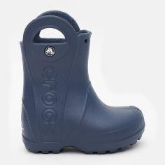 Резиновые сапоги Crocs Kids Jibbitz Handle It Rain Boot 12803-410-C6 22-23 13.2 см Темно-синие (191448182714) от Rozetka