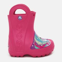 Резиновые сапоги Crocs Kids Fun Lab Creature Rain Boot 205350-6NP-C6 22-23 13.2 см Розовые (191448204317) от Rozetka
