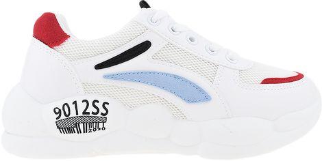Кроссовки Happy Nt10-1 40 24.5 см Белые с черным (2000029538865) от Rozetka