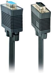 Кабель Cablexpert Premium VGA HD15M - HD15F 10 м 2 ферритовых кольца (CC-PPVGAX-10M-B) от Rozetka
