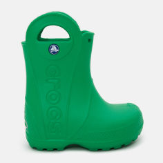Резиновые сапоги Crocs Kids Jibbitz Handle It Rain Boot 12803-3E8-C6 22-23 13.2 см Зеленые (887350425994) от Rozetka