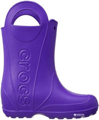 Резиновые сапоги Crocs Kids Jibbitz Handle It Rain Boot 12803-4O5-C6 22-23 13.2 см Фиолетовые (887350848427) от Rozetka