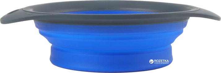 Акция на Универсальная складная миска для кормления для собак Dexas Collapsible Pet Bowl малая 720 мл Синяя (dx30791) от Rozetka