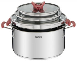 Набор посуды TEFAL Opti'space 2,1+3+5,2 (G720S674) от Eldorado