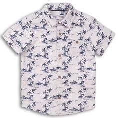 Акция на Рубашка Minoti Good 5 12970 98-104 см Белая (5059030299637) от Rozetka