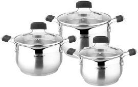 Набор посуды MAXMARK PRO 6пр (MK-BLLH6506A) от Eldorado