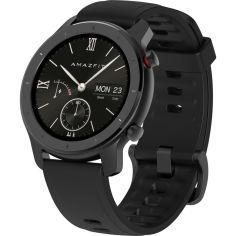 Акция на Смарт-часы XIAOMI Amazfit GTR 42 mm Black от Foxtrot