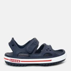 Акция на Сандалии Crocs Kids Crocband II Sandal PS 14854-462-C4 19-20 11.5 см Темно-синие (887350142860) от Rozetka