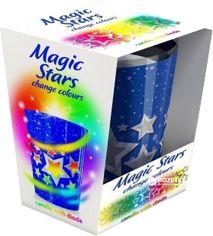Свеча ароматизированная Bartek Magic Stars с Led-подсветкой 11 см (5907602694062) от Rozetka