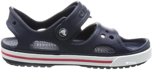Акция на Сандалии Crocs Kids Crocband II Sandal PS 14854-462-C5 20-21 12.3 см Темно-синий (887350142877) от Rozetka