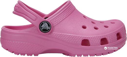 Сабо Crocs Kids Classic Clog K 204536-6I2-C7 23-24 14 см Розовые (887350923506) от Rozetka