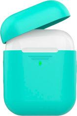 Силиконовый чехол AhaStyle дуо для Apple AirPods Mint green (AHA-02020-MGR) от Rozetka