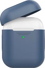 Силиконовый чехол AhaStyle дуо для Apple AirPods Navy blue (AHA-02020-NBL) от Rozetka