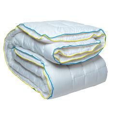 Акция на Одеяло антиаллергенное всесезонное стеганое Four Seasons Cotton тм Славянский пух 142х205 см от Podushka