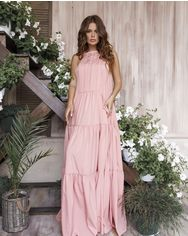 Платья ISSA PLUS 12027  L розовый от Issaplus