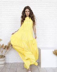 Платья ISSA PLUS 12027  L желтый от Issaplus