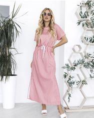 Платья ISSA PLUS 12036  S розовый от Issaplus